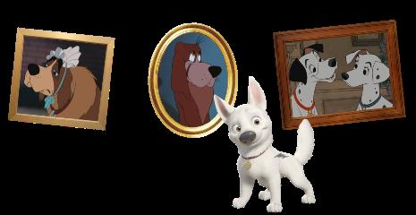 Personnages disney o volt le 173e chien des grands - Race chien volt ...