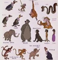 Personnages Disney O Dossier Adaptations Le Livre De La