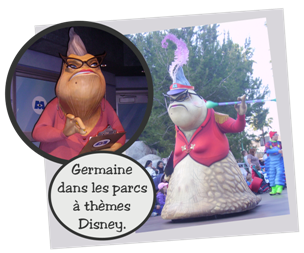 Personnages Disney O Germaine Monstres Cie