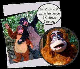 Personnages Disney °o° Roi Louie (Le Livre de la Jungle)