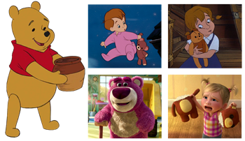 Personnages disney o th me les ours - Peluche rouky ...