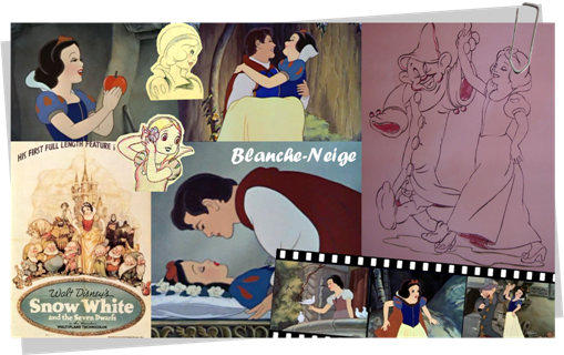 personnage blanche neige