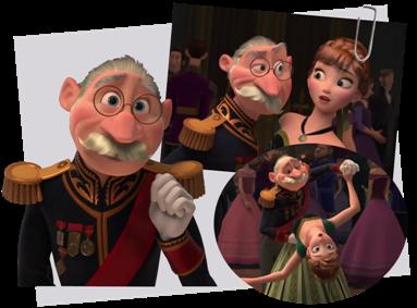 Personnages disney o le duc de weselton la reine des neiges - Personnage de la reine des neiges ...