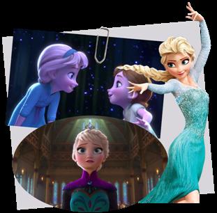 Personnages disney o elsa la reine des neiges - Personnage de la reine des neiges ...