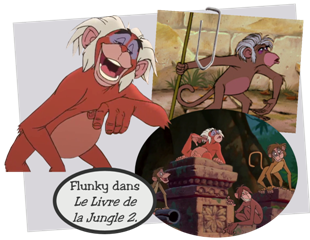 Personnages Disney O Flunky Le Livre De La Jungle