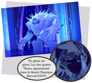 guimauve apparat la toute fin du court mtrage la reine des neiges une fte givre 2015 vivant toujours dans le palais de glace difi par la magie