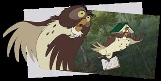 cest ainsi que la bande winnie mene par coco lapin se lance dans une mission de sauvetage de grande envergure laquelle participe matre hibou - Maitre Hibou