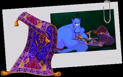 Personnages Disney O Le Tapis Volant Aladdin