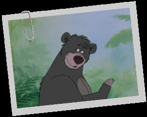 Personnages Disney O Baloo Le Livre De La Jungle