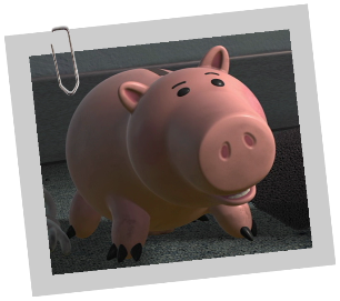 Personnages disney o bayonne toy story - Cochon de toy story ...