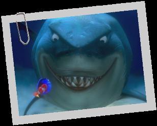 Personnages disney o bruce le monde de nemo - Requin enclume ...