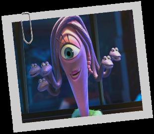 Personnages Disney O Célia Mae Monstres Cie