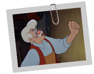 Personnages disney o geppetto pinocchio - Chat dans pinocchio ...
