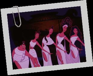 Les cinq Muse Muses