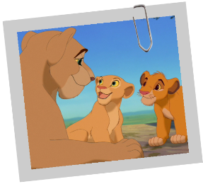 Sarafina ( Lionne, mère de Nala) Sarafina