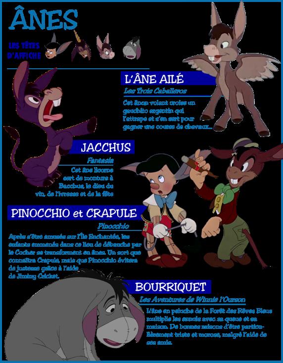 Ane Walt Disney : Personnages disney °o° thème les Ânes