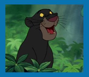 Personnages Disney O Bagheera Le Livre De La Jungle