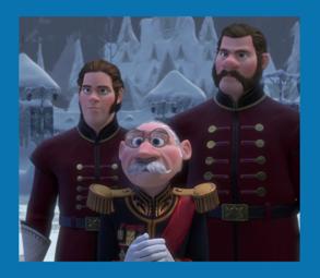 Personnages disney o les gardes du duc de weselton la reine des neiges - Personnage de la reine des neiges ...