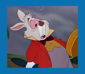 Personnages disney o le lapin blanc alice au pays des merveilles - Le lapin d alice au pays des merveilles ...