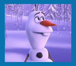 personnages disney o olaf la reine des neiges