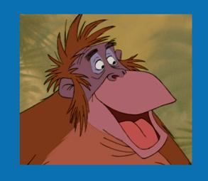 Personnages Disney O Roi Louie Le Livre De La Jungle
