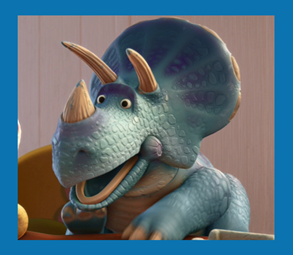 personnages disney o trixie toy story 3 - Dinosaure Disney