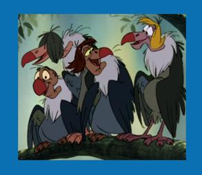 Personnages Disney O Vautours Le Livre De La Jungle